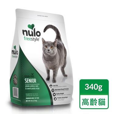 NULO紐樂芙  無榖高齡貓-鱈魚+蔓越莓340g