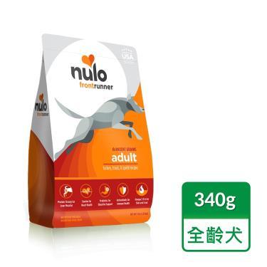 NULO紐樂芙 低升醣全齡犬-火雞+鱒魚+蘋果340g