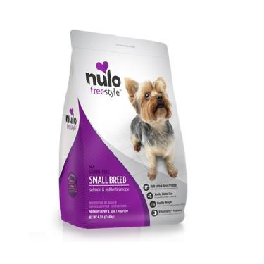NULO紐樂芙 無榖小型犬-鮭魚+胡蘿蔔4.5lb