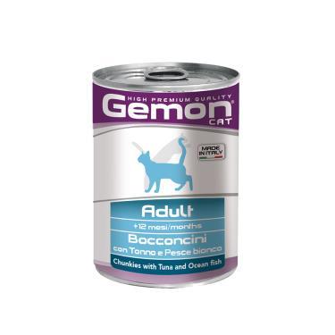 gemon貓主食罐鮪魚+深海魚415g