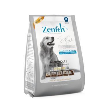 Zenith無榖軟飼料-成犬大顆粒1.2kg
