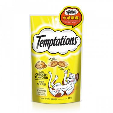 TEMPTATIONS貓餡餅火烤嫩雞85g + -單一規格