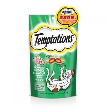 TEMPTATIONS貓餡餅海鮮百匯85g + -單一規格