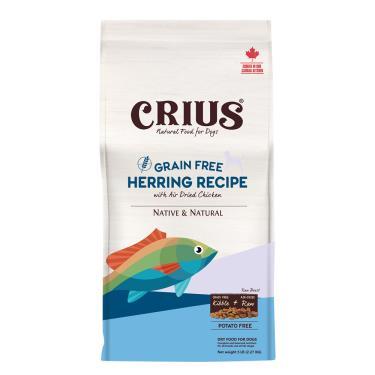 CRIUS 克瑞斯 犬無榖飼料-白鮭魚鮮肉塊5lb
