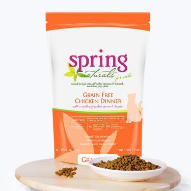 Spring曙光 天然貓無穀餐食-雞肉4lb