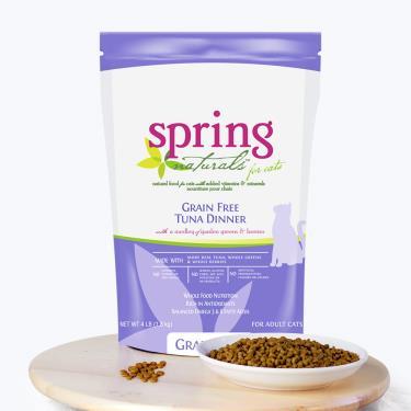Spring曙光 天然貓無穀餐食-鮪魚4lb