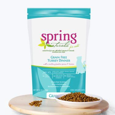 Spring曙光 天然貓無穀餐食-火雞肉10lb