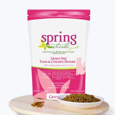 Spring曙光 天然貓無穀餐食-鮪魚雞肉4lb