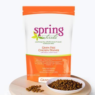 Spring曙光 天然犬無穀餐食-雞肉4lb