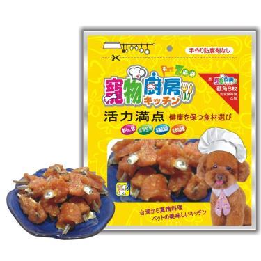 寵物廚房 高鈣雞小魚乾160g
