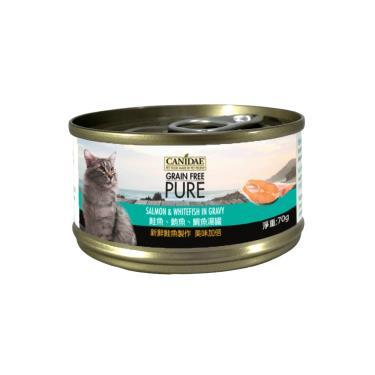 CANIDAE  貓無穀主湯罐-鮭+鮪+鯛70g