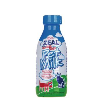 ZEAL 紐西蘭犬貓用鮮乳不含乳糖380ml