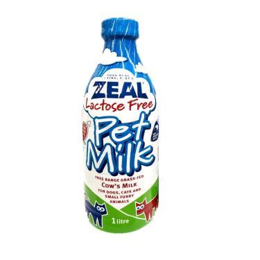 ZEAL 紐西蘭犬貓用鮮乳不含乳糖1000ml