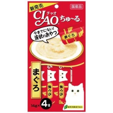 CIAO 啾嚕肉泥-鮪魚14g*4入