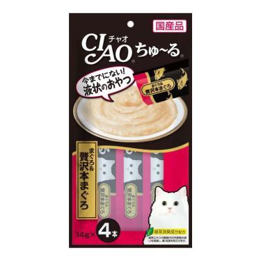 CIAO 啾嚕肉泥-奢華鮪魚14g*4入/包 日本製