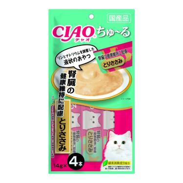 CIAO 啾嚕肉泥-腎臟健康雞肉14g*4入/包 日本製