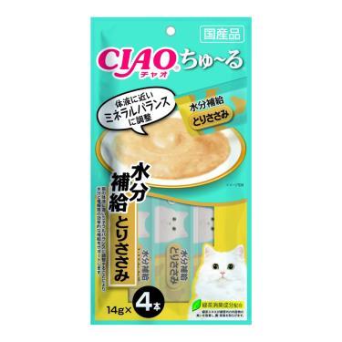 CIAO 啾嚕肉泥電解質水分補給-雞肉14g*4入/包 日本製