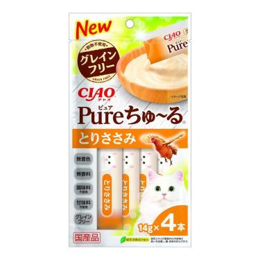 CIAO PURE啾嚕肉泥-雞肉14g*4入/包 日本製
