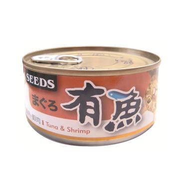 有魚貓餐罐-鮪魚+蝦肉170g