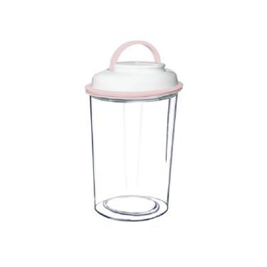 Comboez 智能抽真空食物保鮮罐粉紅5L