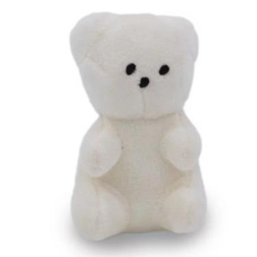 BiteMe 寵物造型玩具小熊軟糖-白色