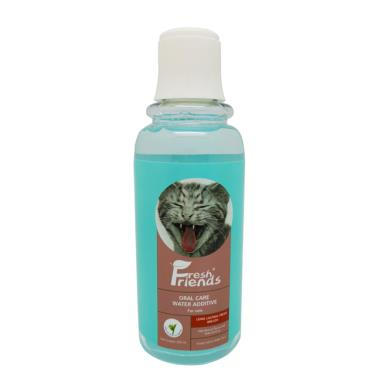 好口氣貓用-潔牙水綠茶330ml