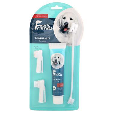 好口氣犬用-酵素牙膏清潔組薄荷
