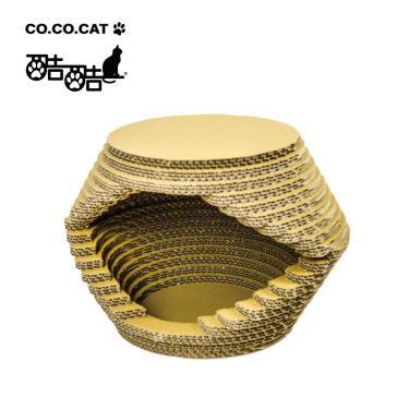 Cococat酷酷貓貓抓板-雪屋