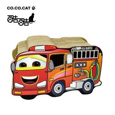 Cococat酷酷貓貓抓板-消防車