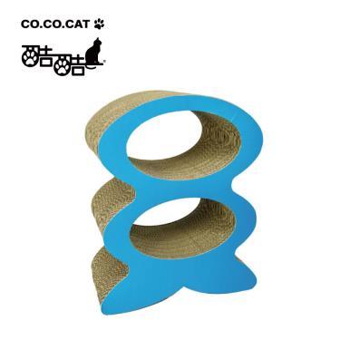 Cococat酷酷貓貓抓板-魚骨公寓