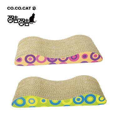 Cococat酷酷貓貓抓板-雙坡貓抓板