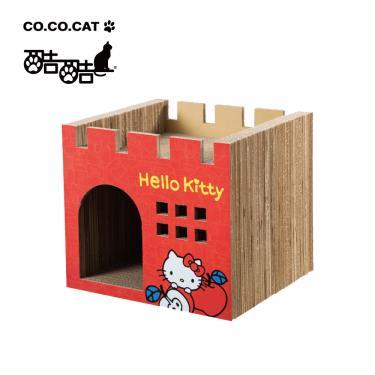 酷酷貓貓抓板-HelloKitty聯名豪華城堡
