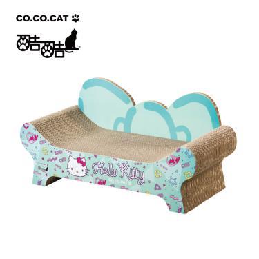 酷酷貓貓抓板-HelloKitty聯名蝴蝶結貴貓椅