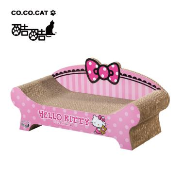 酷酷貓貓抓板-HelloKitty聯名貴貓椅
