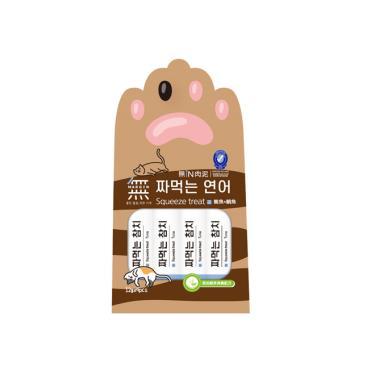 無IN肉泥-鮪魚+鯛魚 12g*4條/包