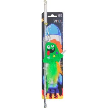小怪獸 逗貓棒組-大嘴怪(綠)