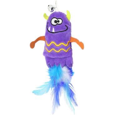 小怪獸逗貓玩具-小惡魔(紫)