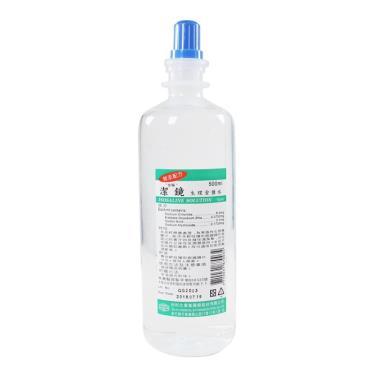 台裕 潔鏡生理食鹽水 500ML (清洗隱形眼專用)
