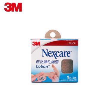 3M Nexcare 自黏彈性繃帶1吋 2捲入