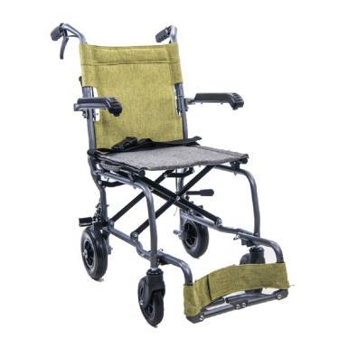 均佳  鋁合金輪椅 旅行輕巧型  JW-X10 附收納袋 廠送