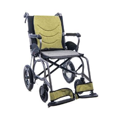 均佳 鋁合金輕量化看護型輪椅 固手固腳 背可折 後輪12吋 JW-X30-12II 廠送