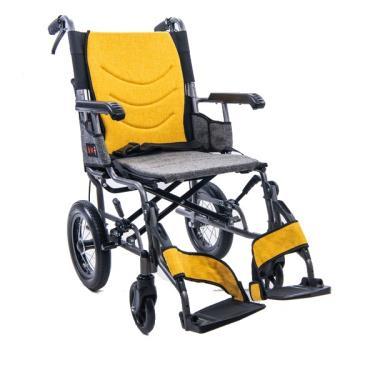 均佳 鋁合金掀腳設計看護型輪椅 後輪12吋 JW-X40-12 廠送