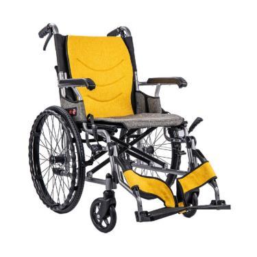 均佳 鋁合金掀腳設計看護型輪椅 後輪20吋 JW-X40-20 廠送