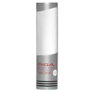 TENGA HOLE LOTION SOLID 鮮明柔順潤滑液-銀色(TLH-004)
