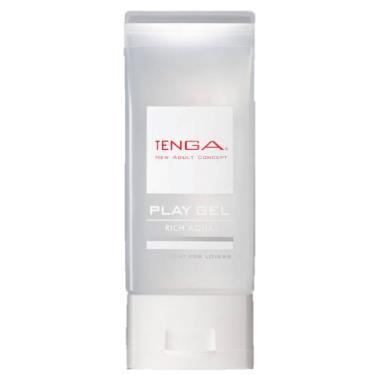 TENGA PLAY GEL RICH AQUA 濃厚型潤滑液-白色