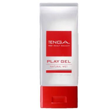 TENGA PLAY GEL NATURAL WET 無黏性潤滑液-紅色