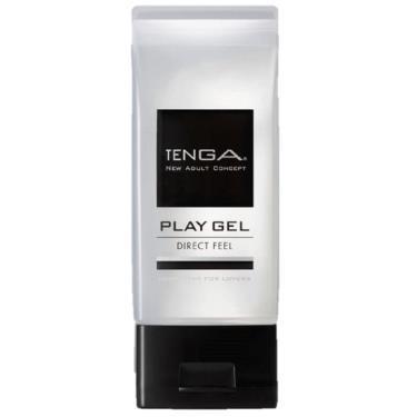 TENGA PLAY GEL DIRECT FEEL清爽潤滑液-黑色