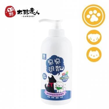 木酢達人 寵物用品全效洗衣精 500g/瓶