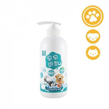 木酢達人 木酢寵物洗毛精 490g/瓶