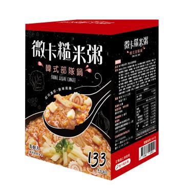 iFit 微卡糙米粥-韓式部隊鍋(36g*5包/盒)-廠送